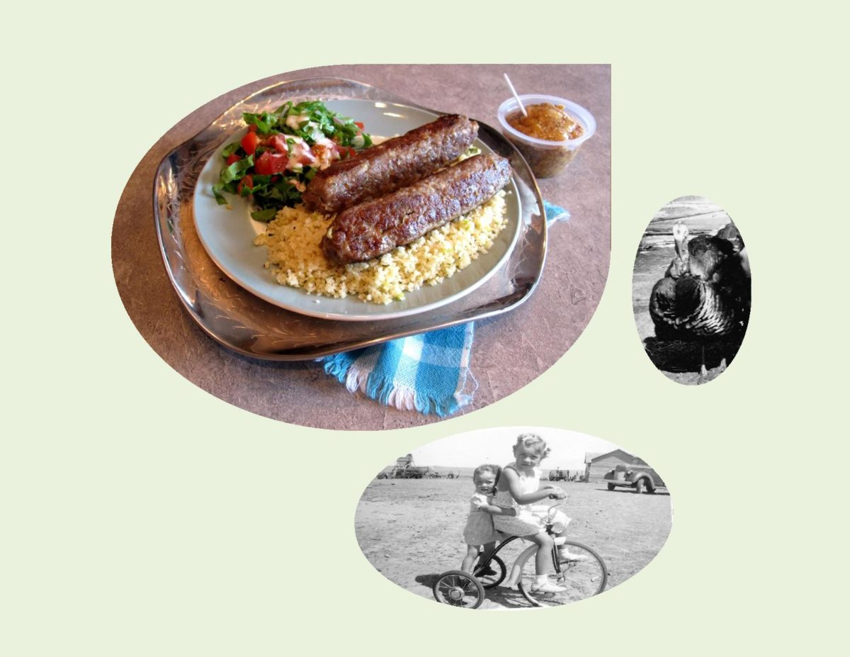 Turkey/Apple Sausage with Herbed Couscous