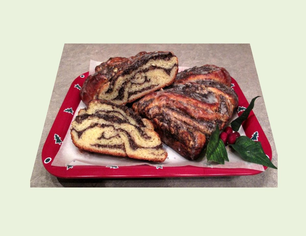 German Poppy Seed Coffee Roll