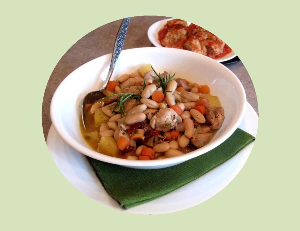 Chicken Fagioli Stew
