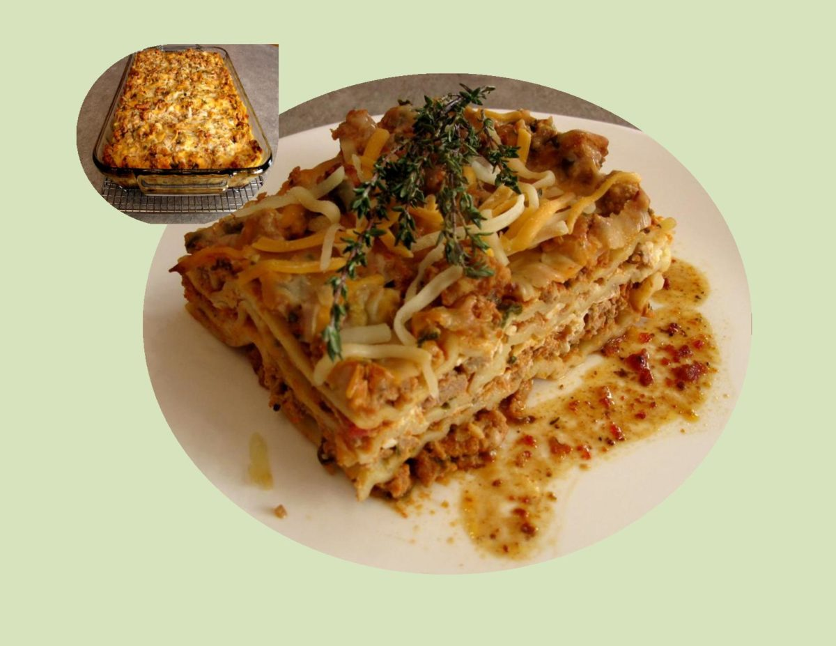 'Healthy' Chicken Lasagna