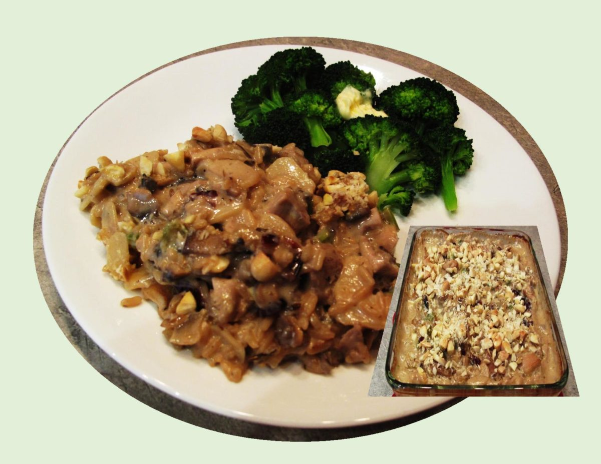 Wild Rice & Turkey Casserole