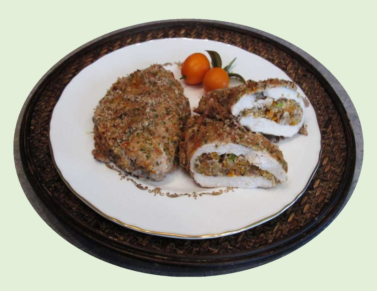 Kumquat & Walnut Stuffed Chicken Breast