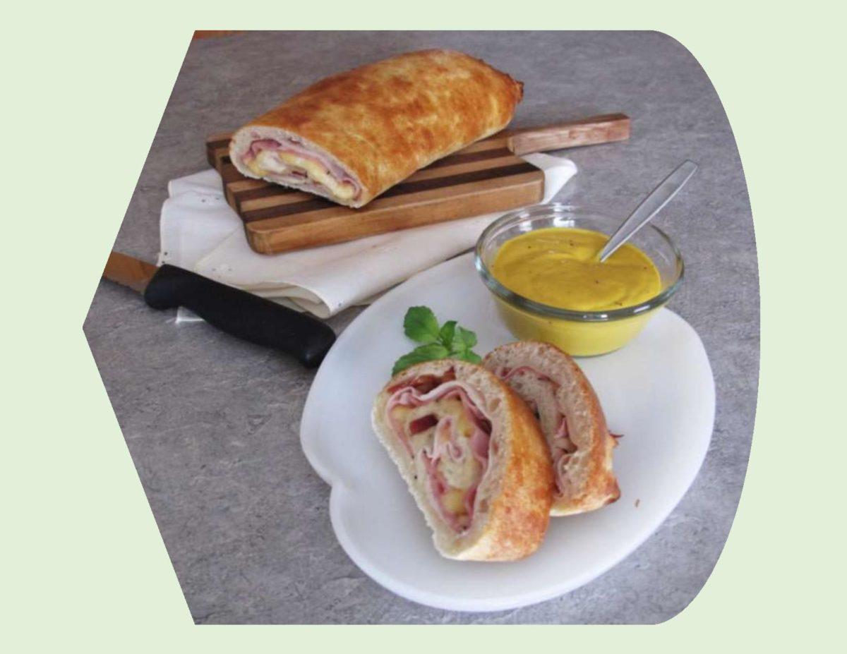 Club Sandwich Stromboli
