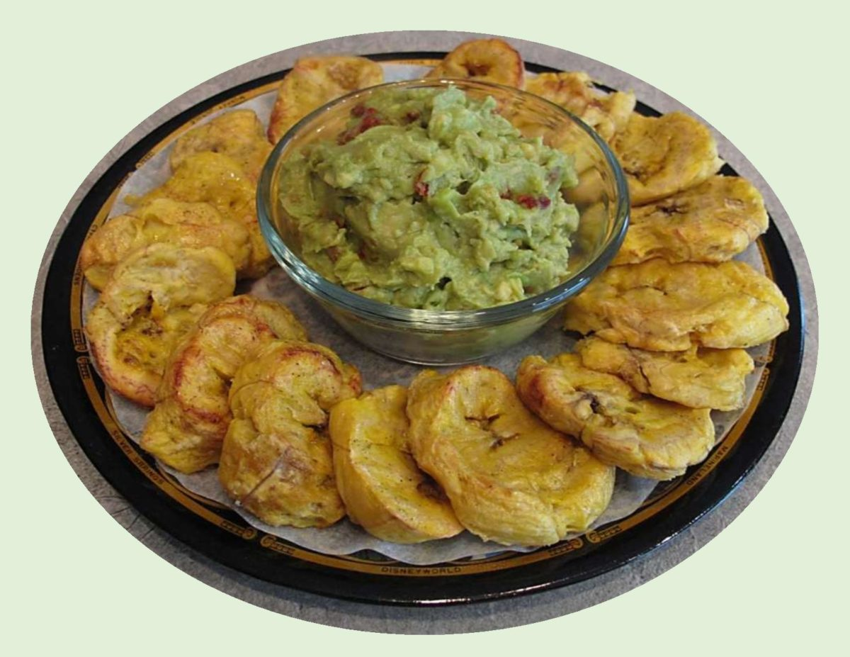 Baked Patacones with Guacamole