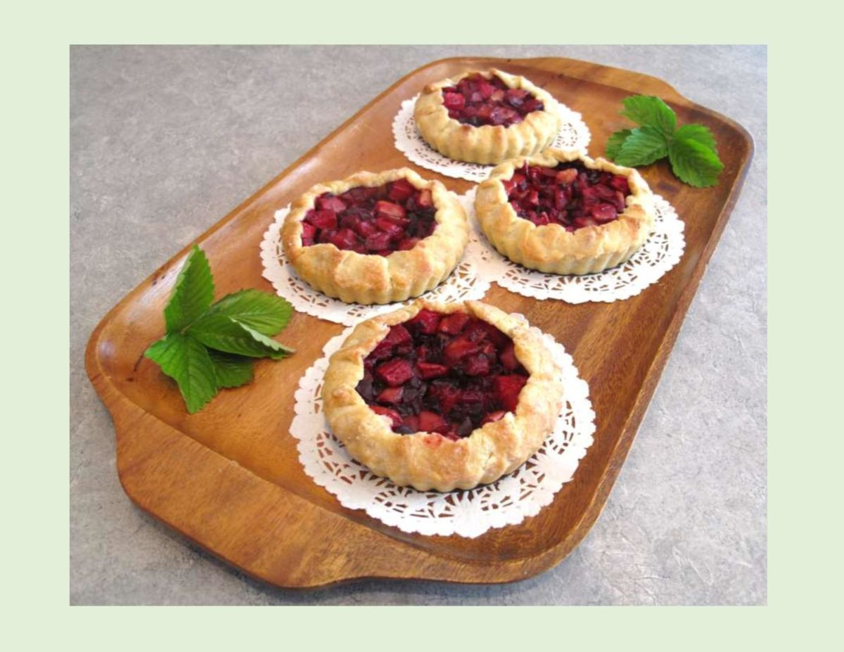 Beet & Apple Crostata