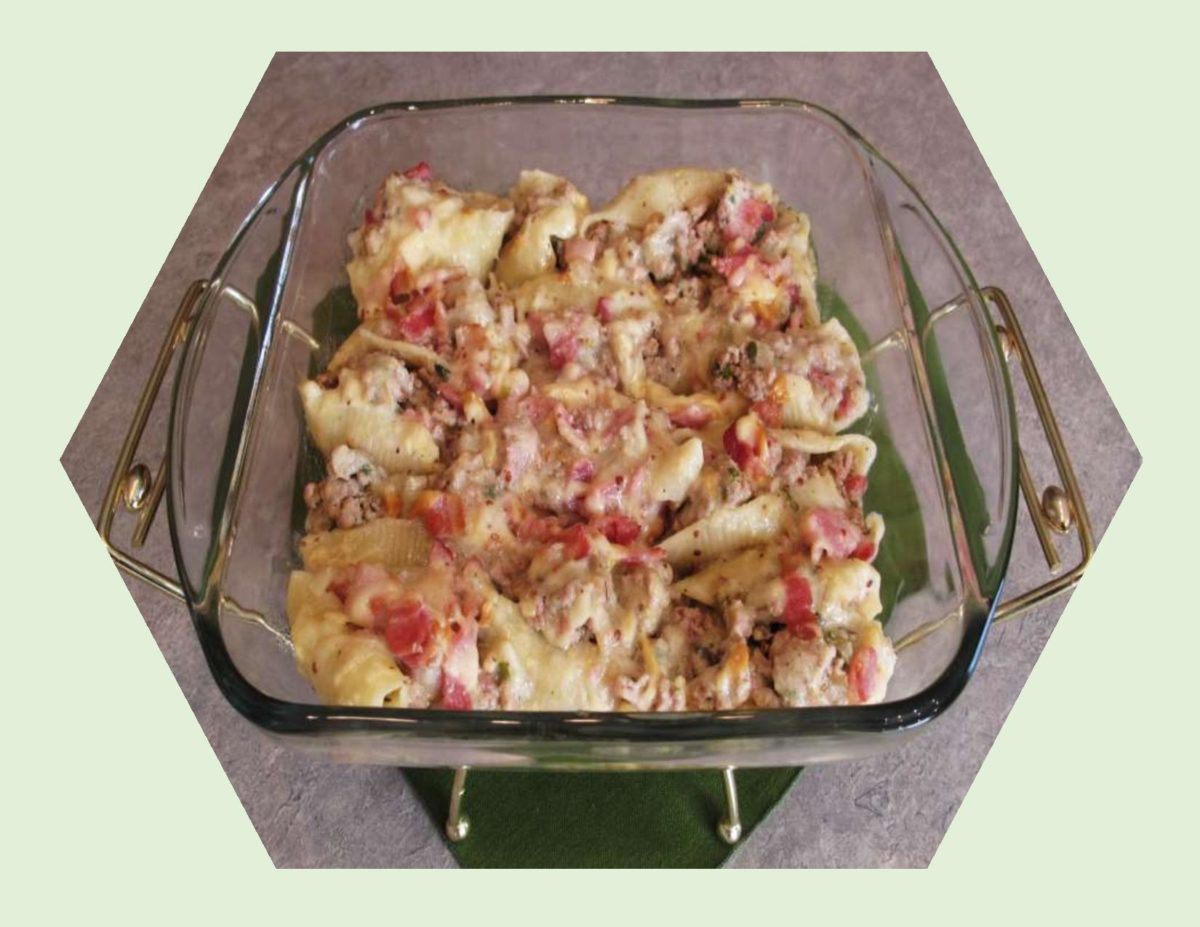 Turkey & Hickory Bacon Stuffed Pasta Shells