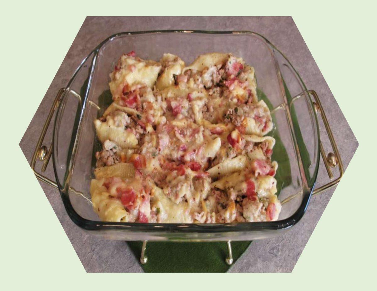 Turkey & Hickory Bacon Stuffed Pasta Shells