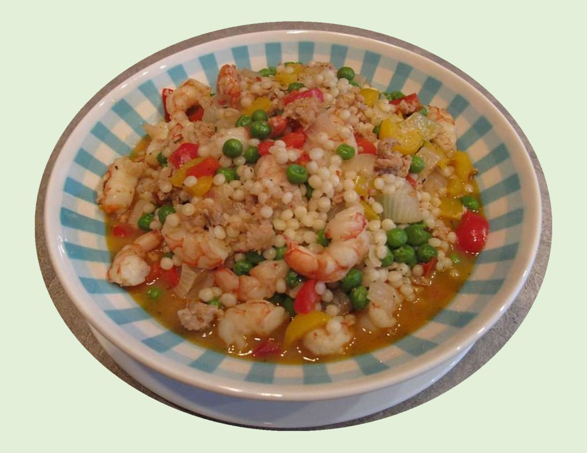 Couscous Shrimp Paella