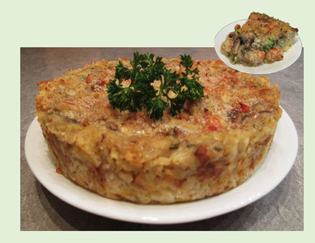 Shrimp Quiche Casserole