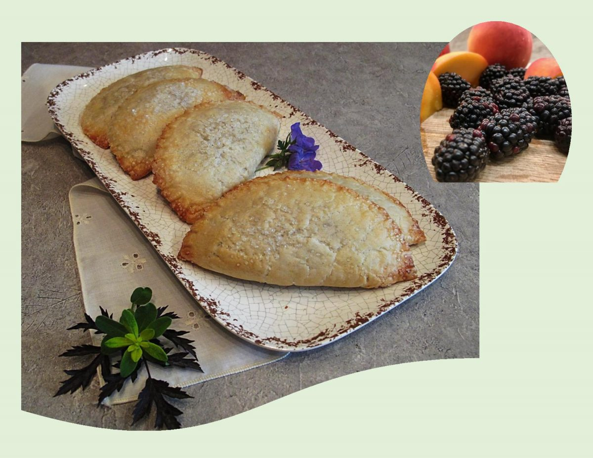 Blackberry-Peach Hand Pies