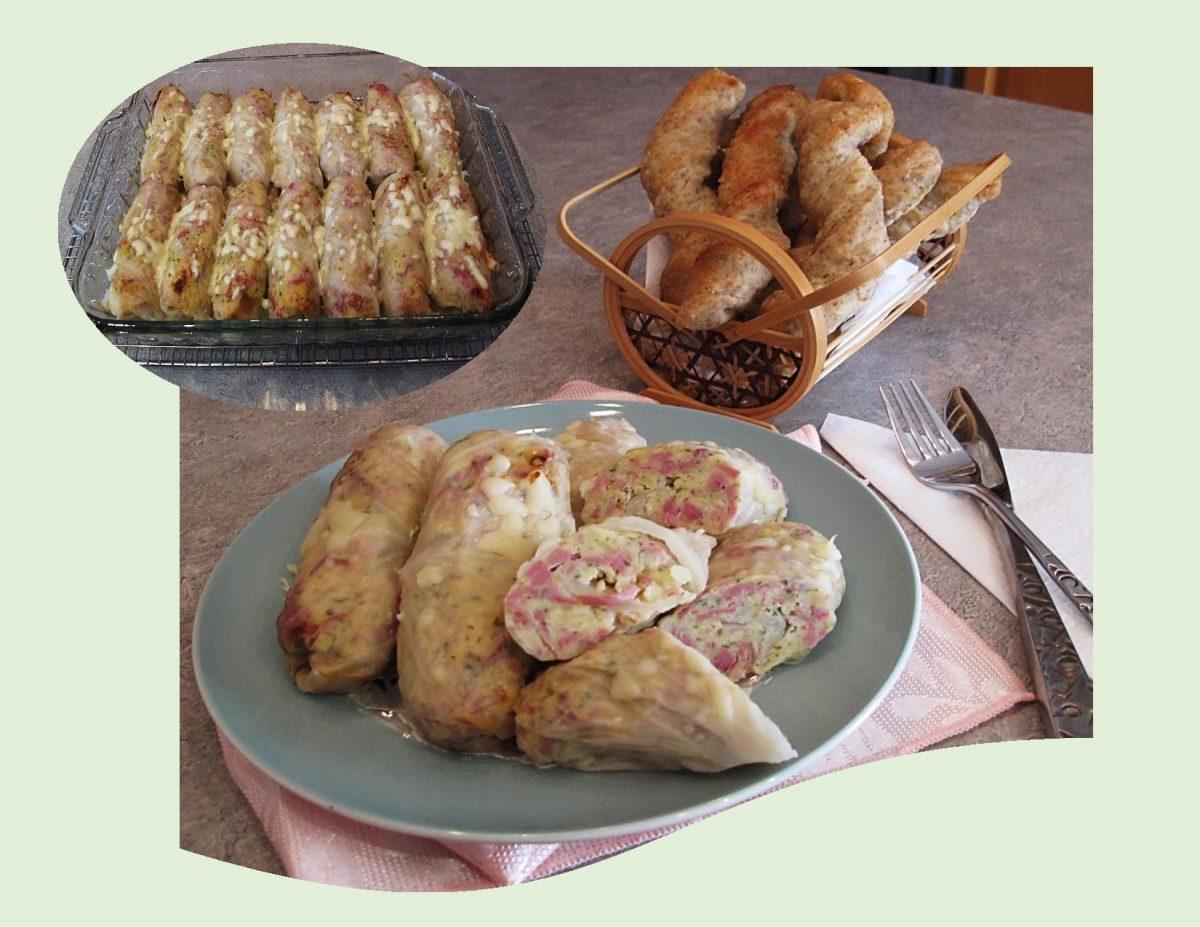 Corned Beef & Potato Cabbage Rolls