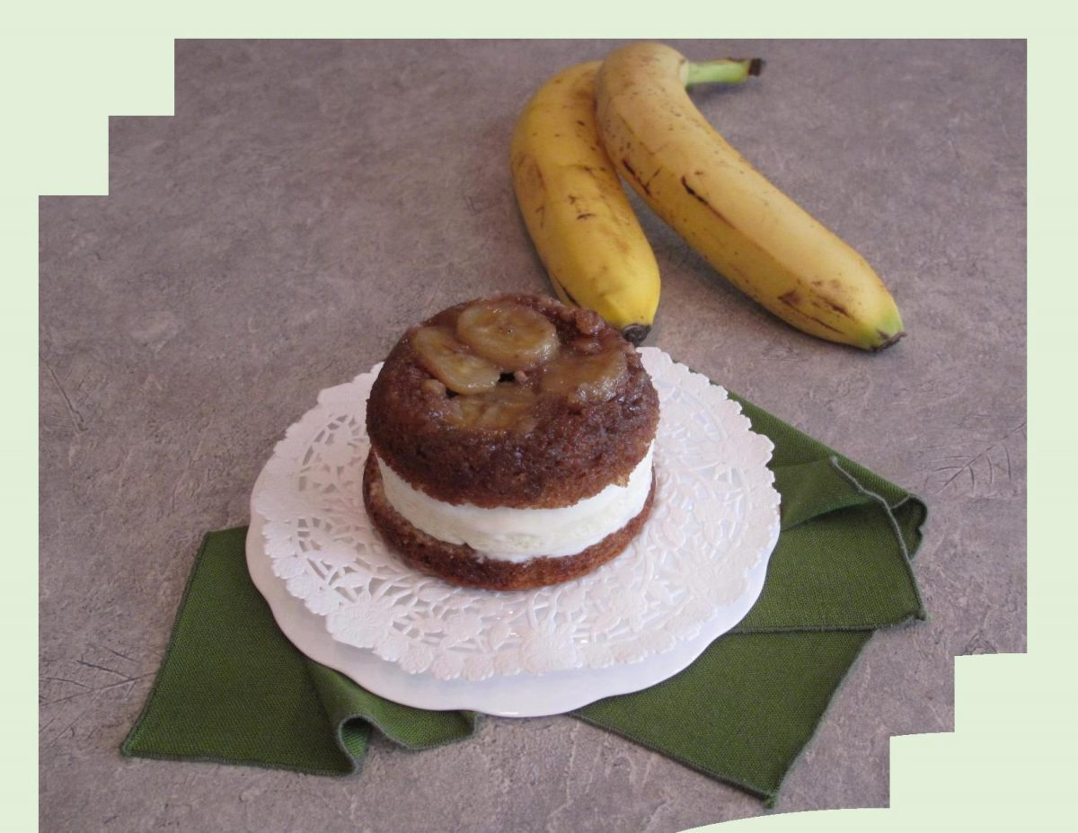 Banana Ice Cream Sandwich Cake
