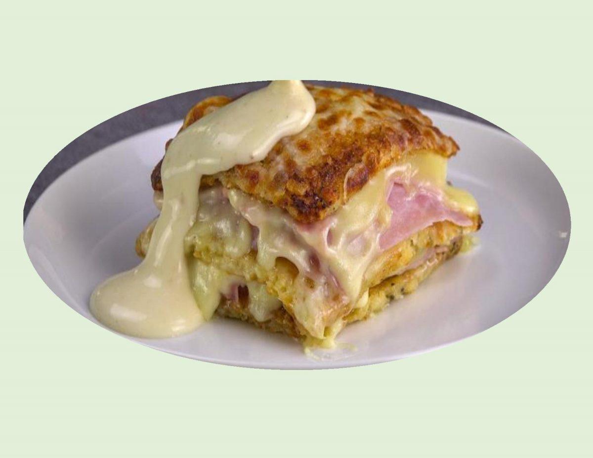 Cauliflower Monte Cristo Lasagna