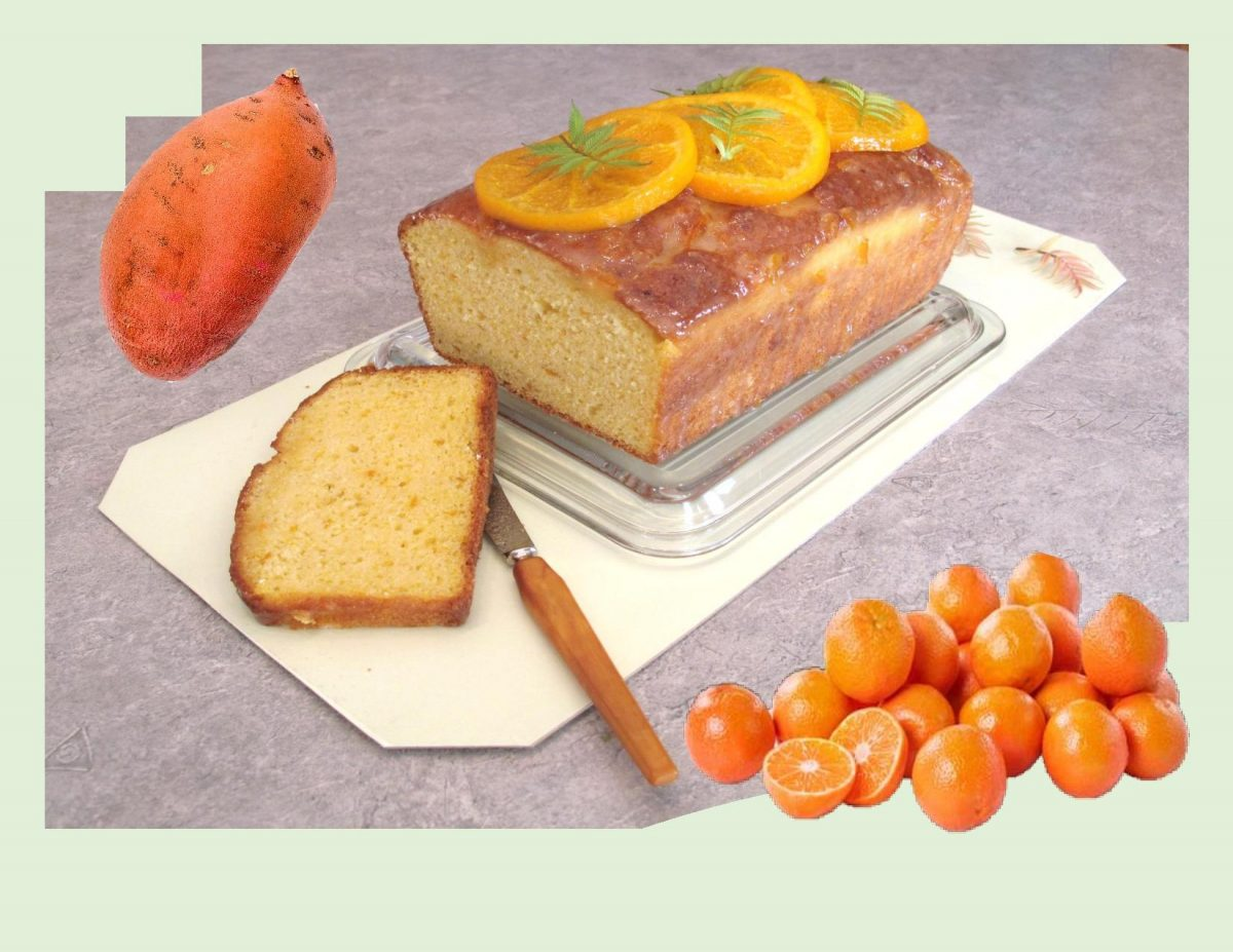 Sweet Potato & Clementine Loaf Cake
