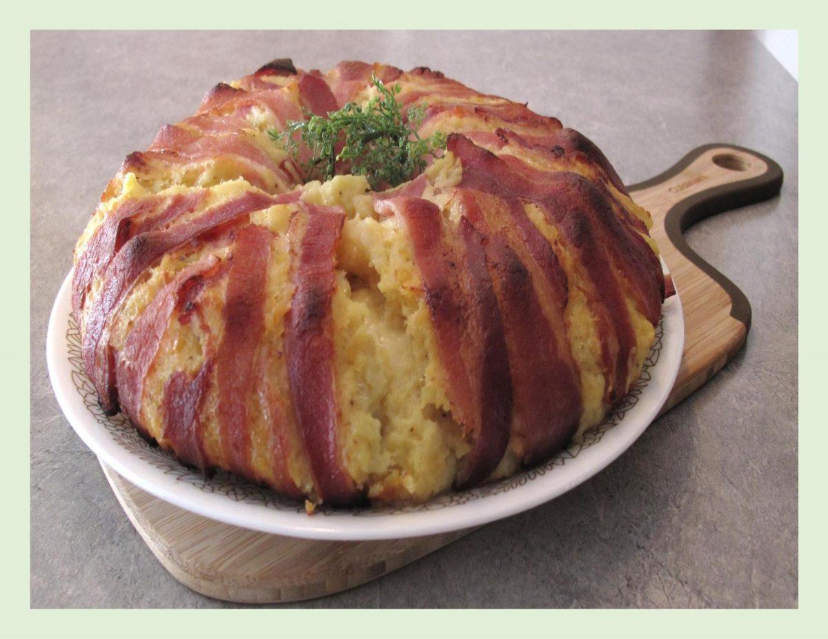 Bacon & Potato Cheese Ring