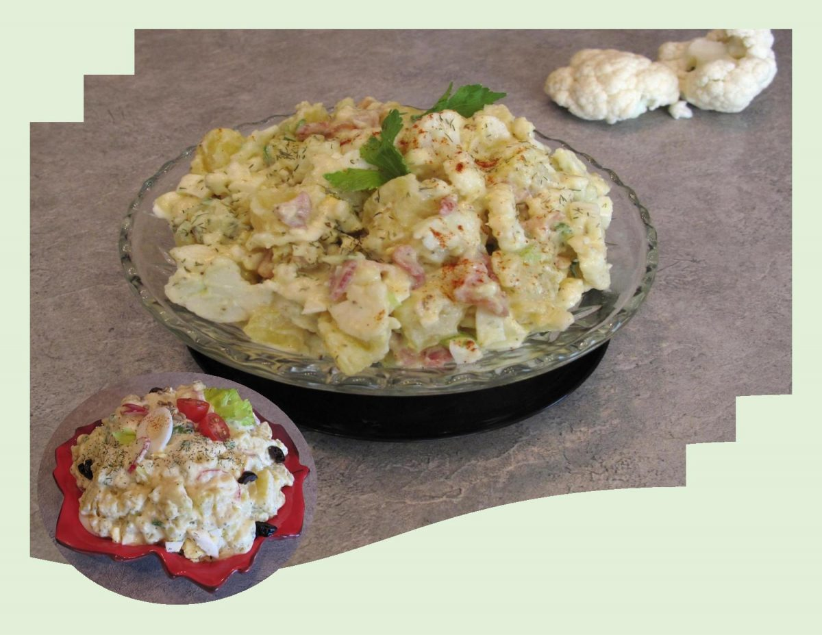 German Potato & Cauliflower Salad