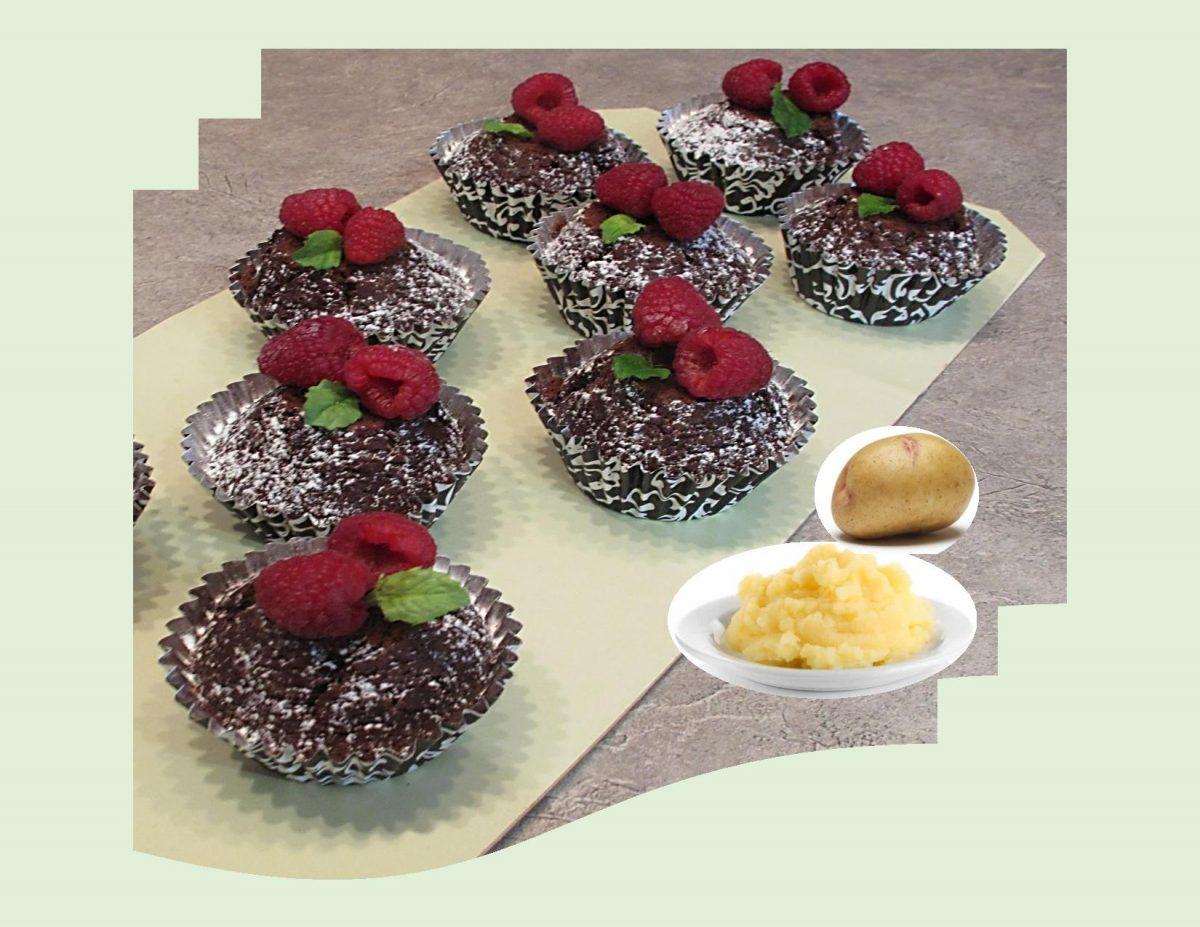 Vintage Chocolate Potato Cake